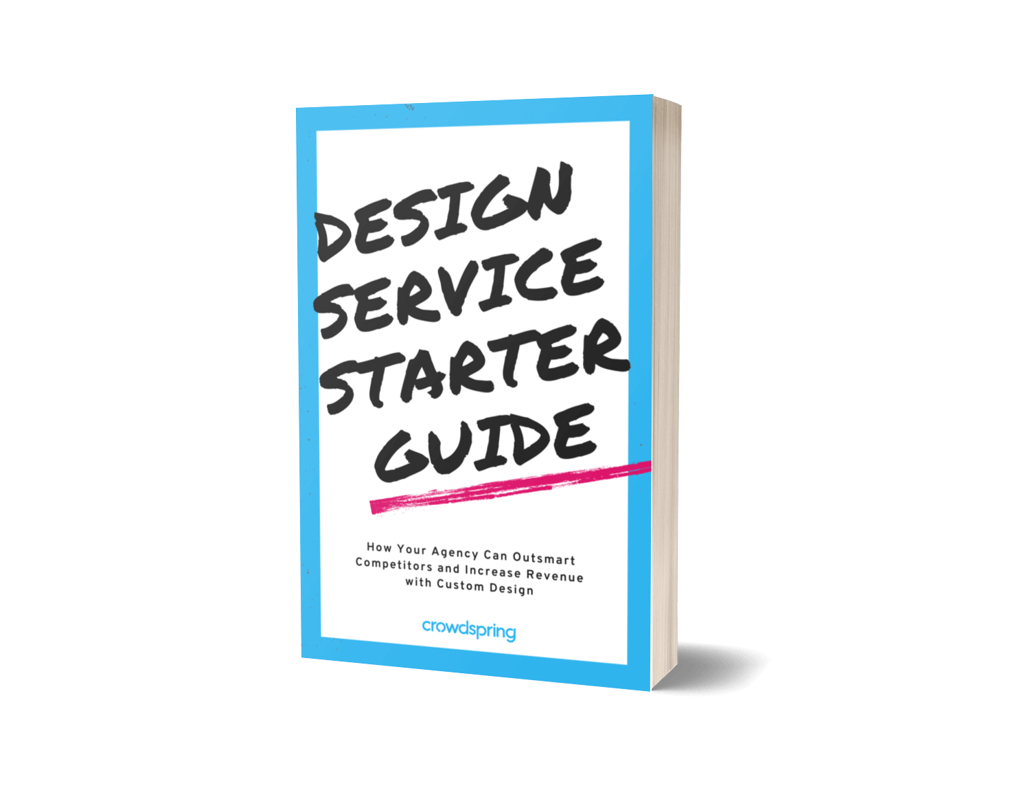 crowdspring free guide for agencies to offer custom design services